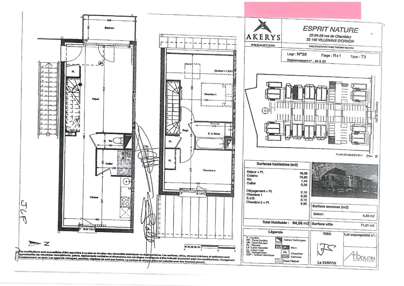 Location Appartement Bouliac